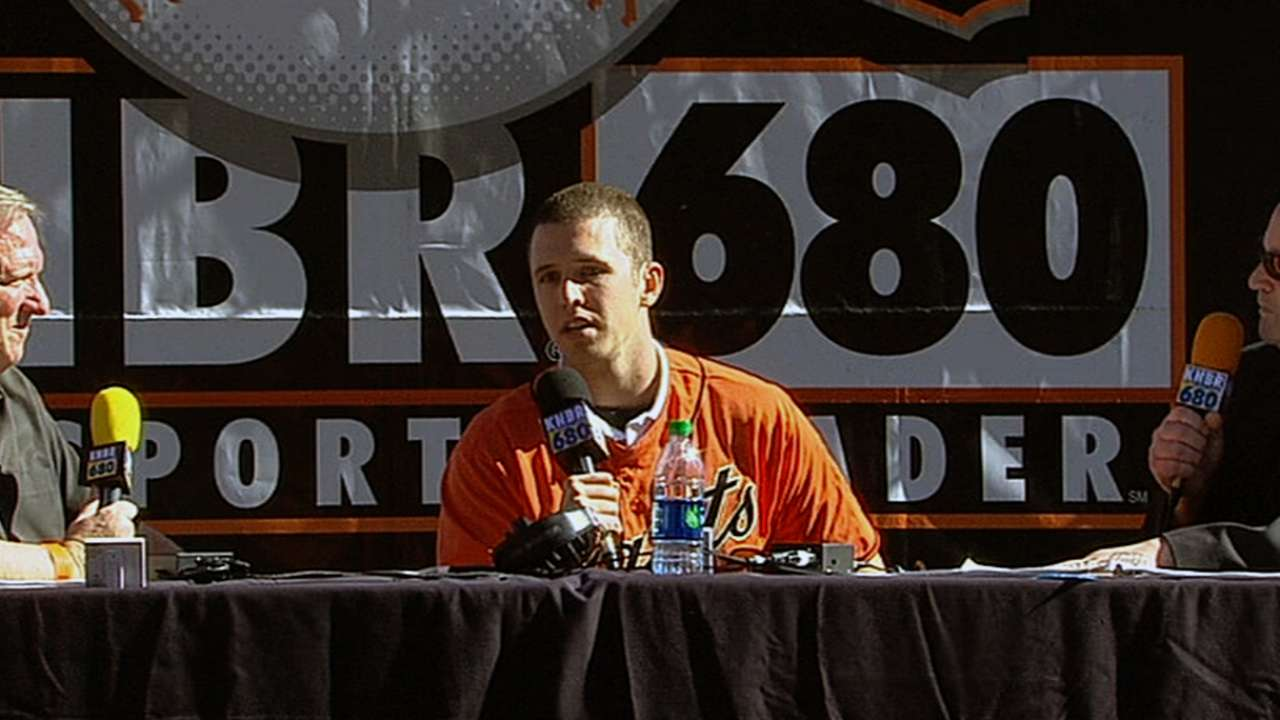 Giants informative, entertaining at FanFest