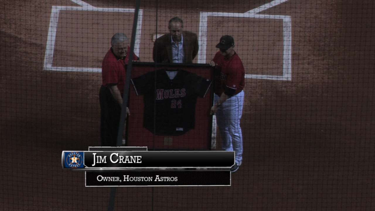 Crane honored by University of Central Missouri