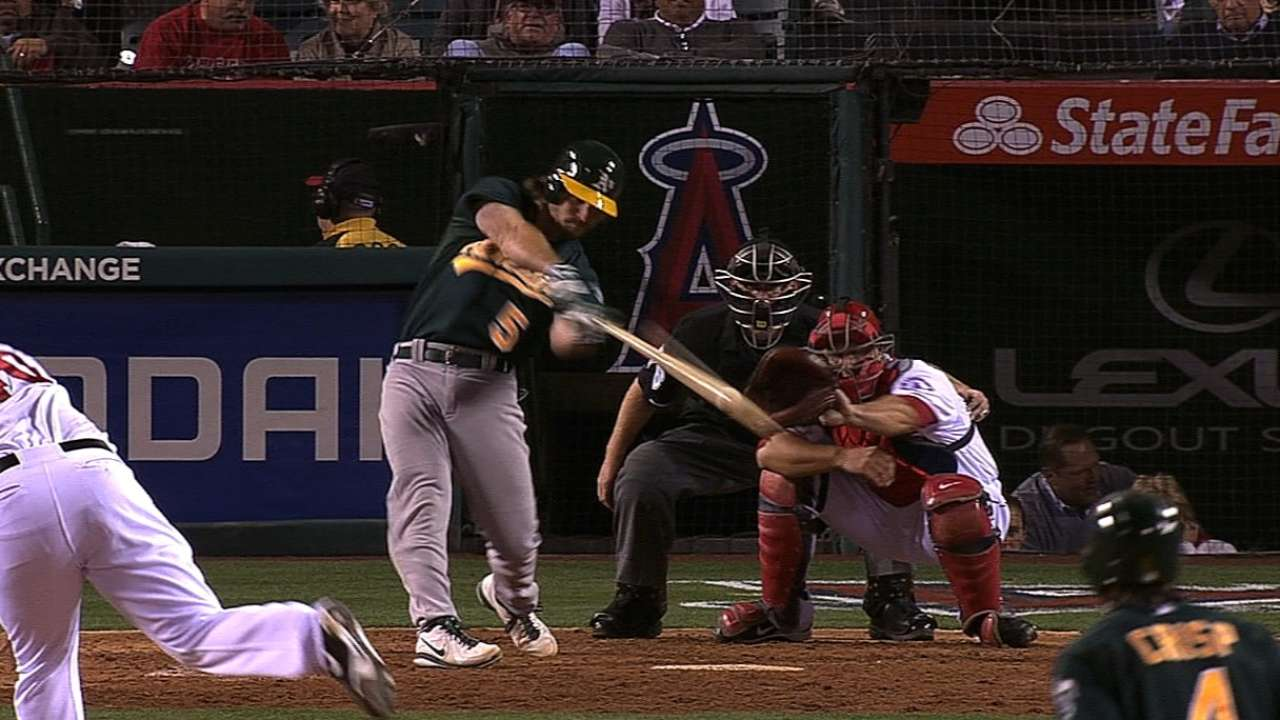Jaso doesn't want his catching time to take a hit