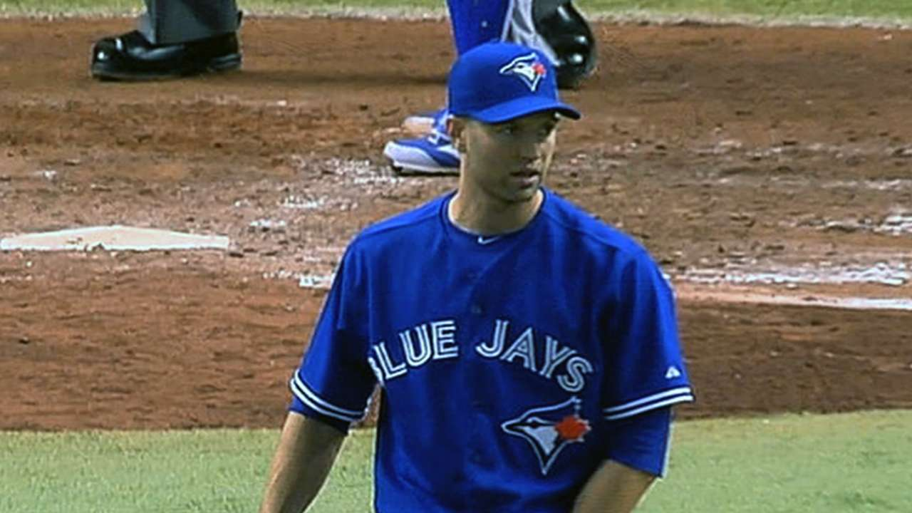 Anthopoulos: Happ absent to rest injured back