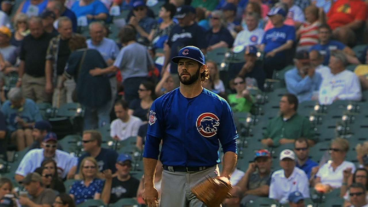 Arrieta works three hitless innings at Double-A