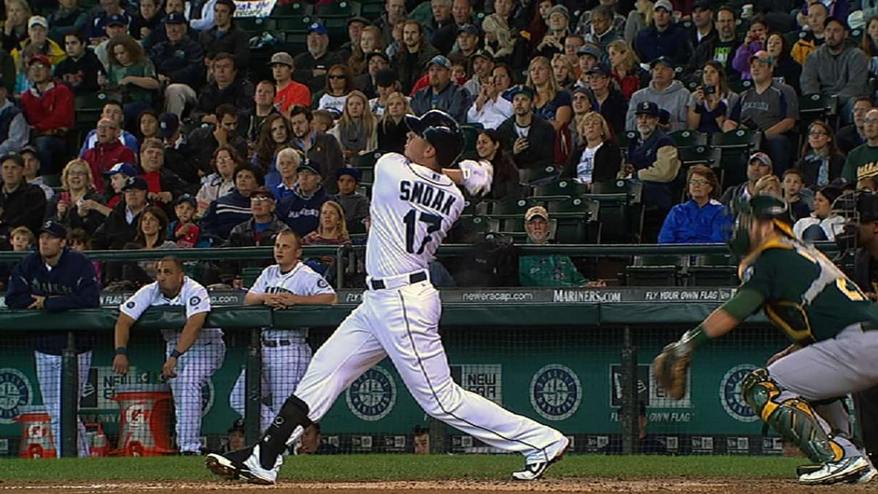 McClendon wants Smoak to hit more doubles