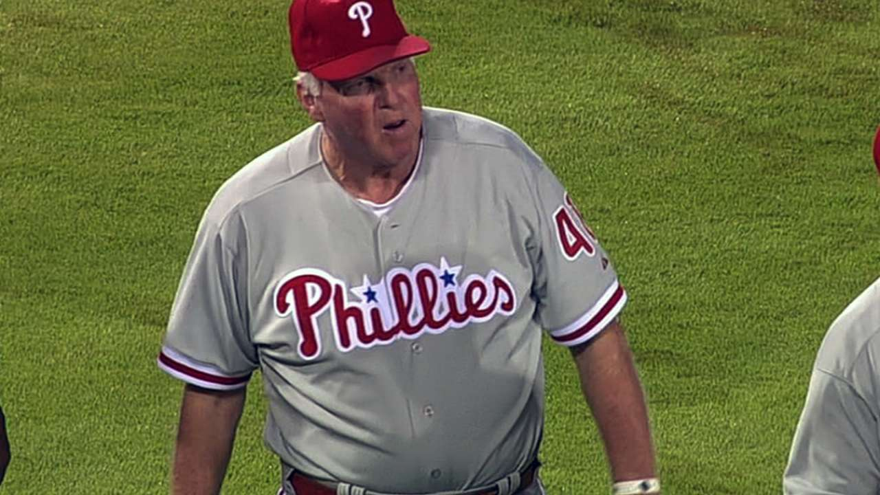 Manuel unable to resist lure of game in return to Philly