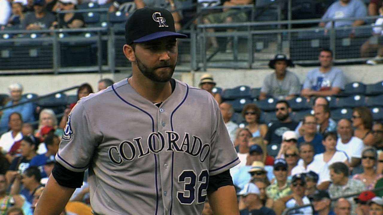 Chatwood strong in Minors game on Rockies' day off