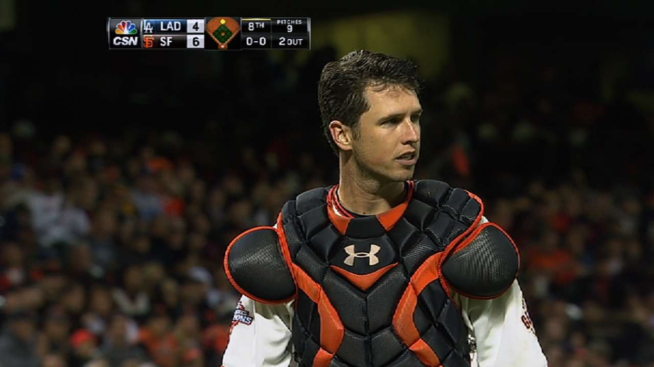 Posey adds bulk with offseason conditioning