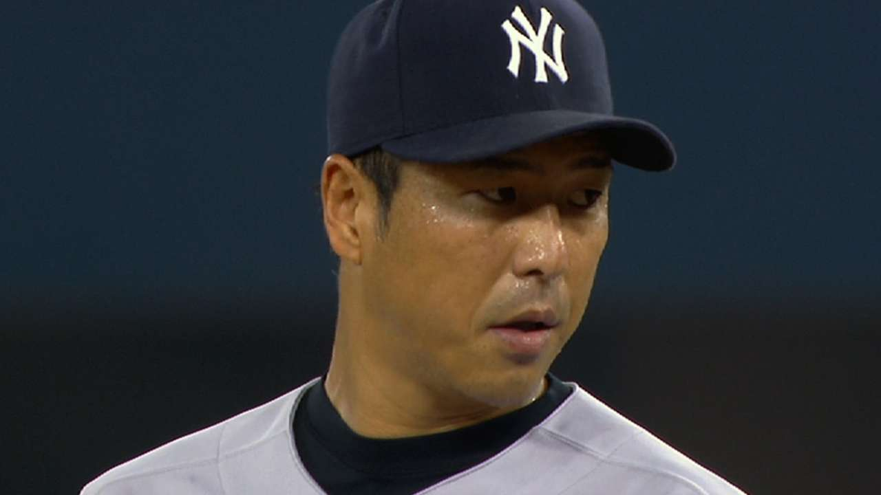 Pettitte, Mo inspire Kuroda to nix retirement plans
