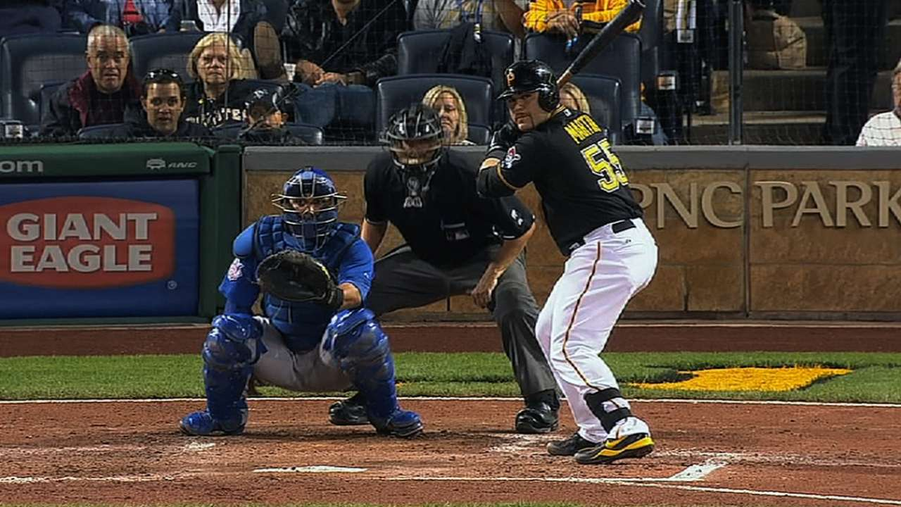 Martin confident with Bucs' depth behind the plate