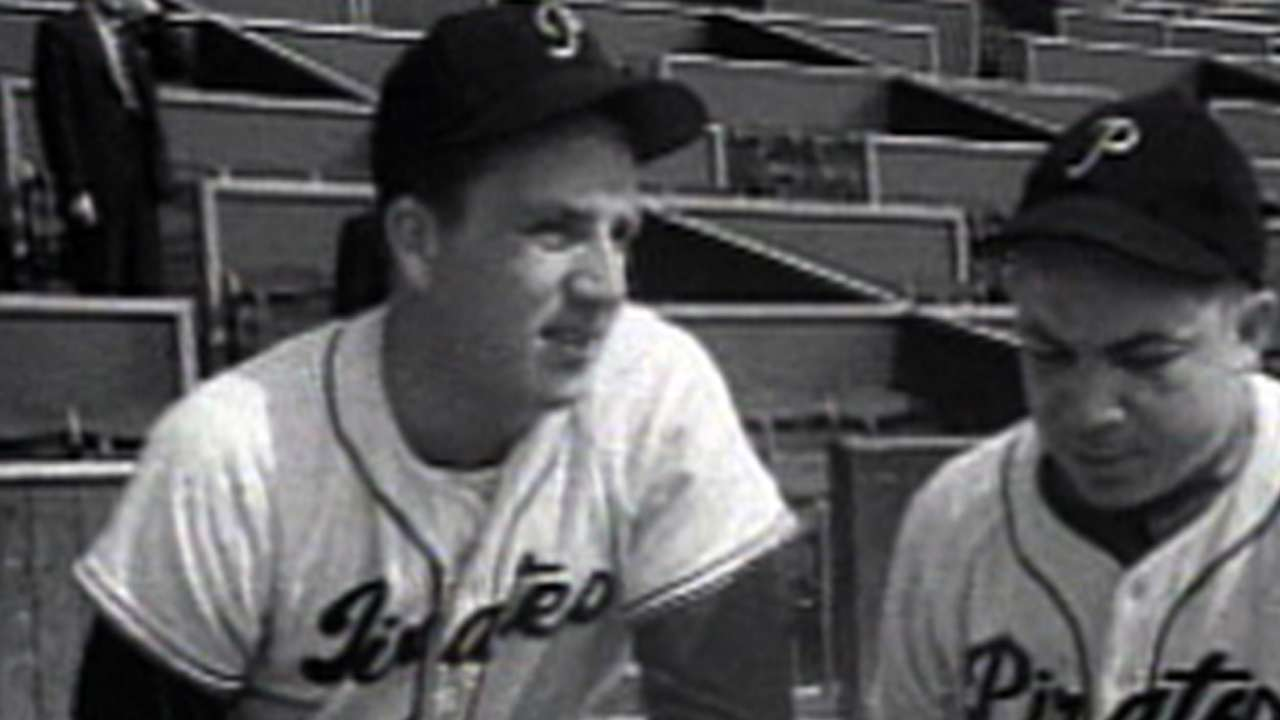 Kiner displayed prodigious power with Pirates