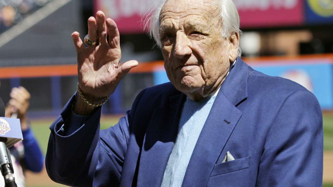 A baseball staple, Kiner never lost storytelling flair