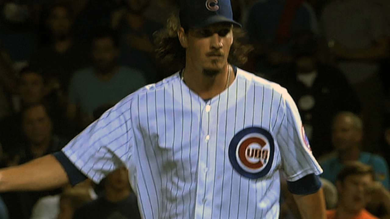 Samardzija on contract talks: No comment