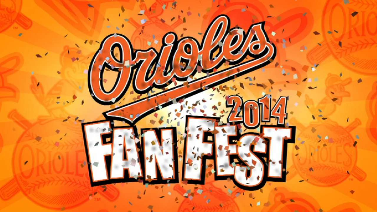 Orioles reveal information for 2015 FanFest