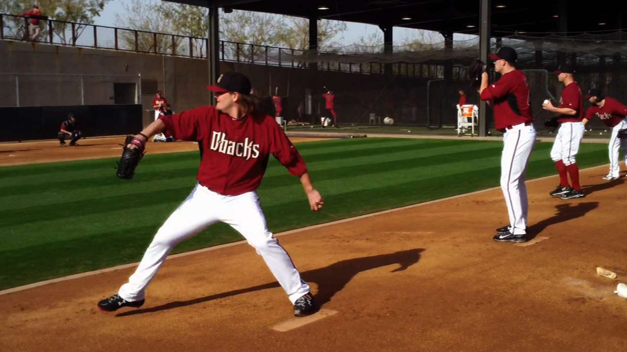 Collmenter, D-backs spring into Arizona action