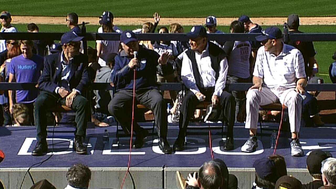 Padres president reflects on ballpark, fan connection