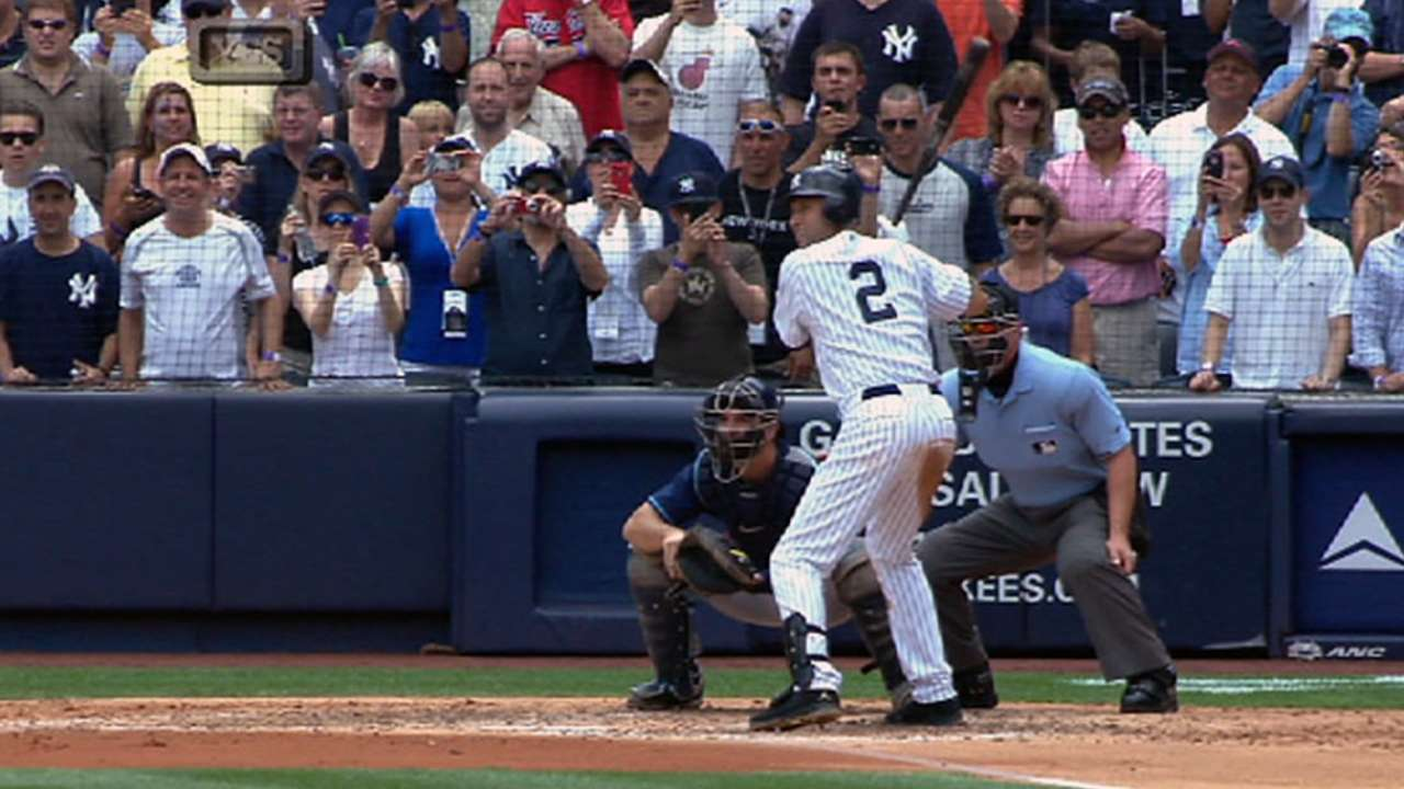 Jeter's historic day