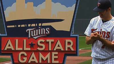 Twins hold ceremony to unveil All-Star logo