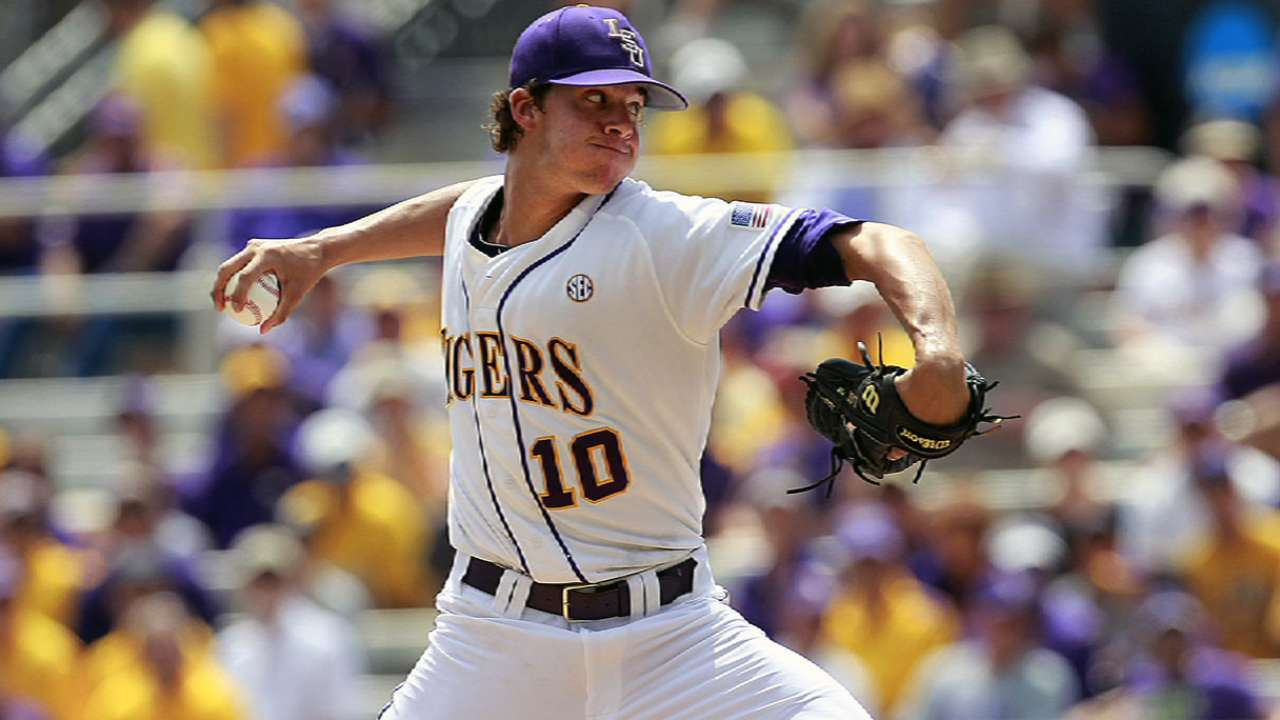 No touching LSU right-hander Nola