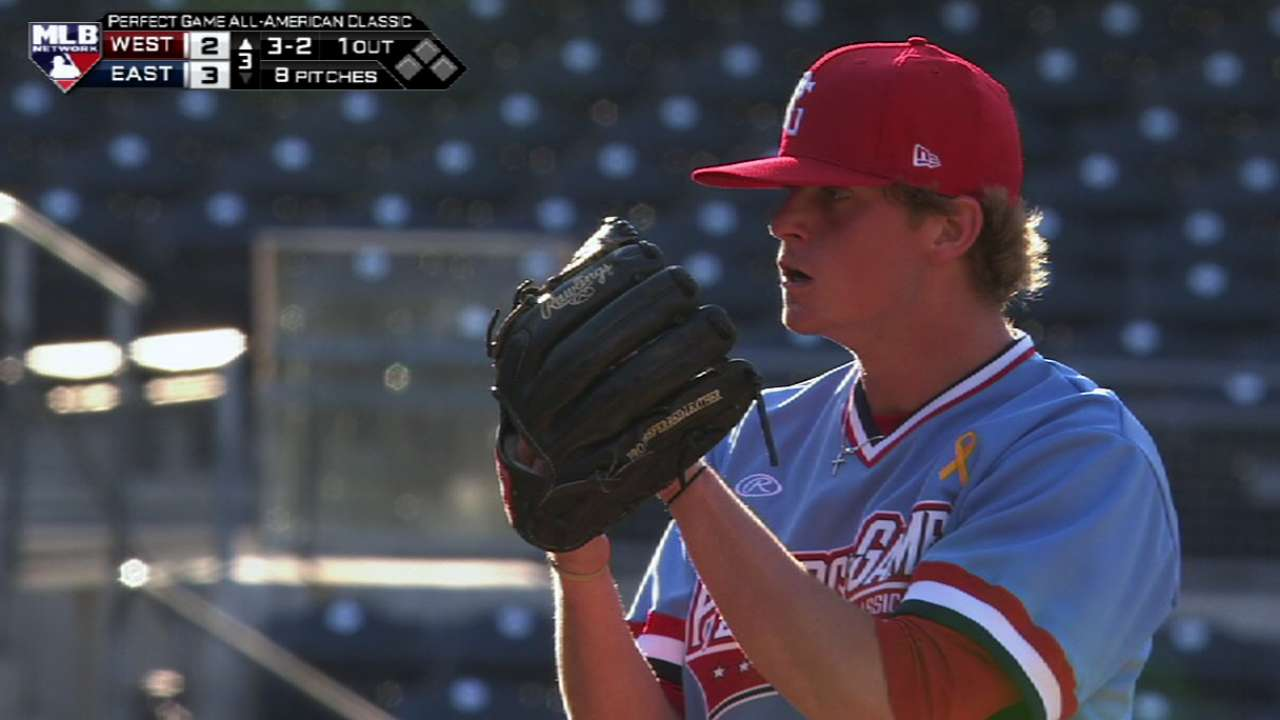Draft task turns to inking college-committed pitchers