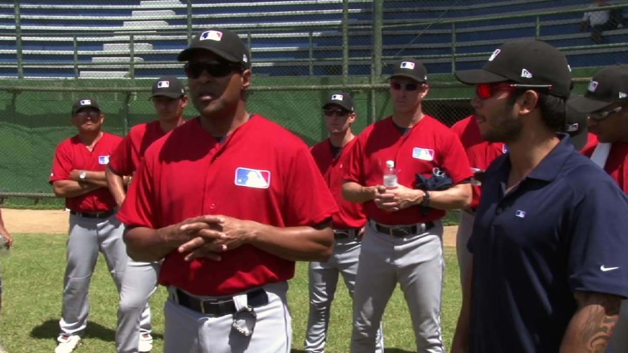 Hawkins teaches, learns lessons coaching in Brazil