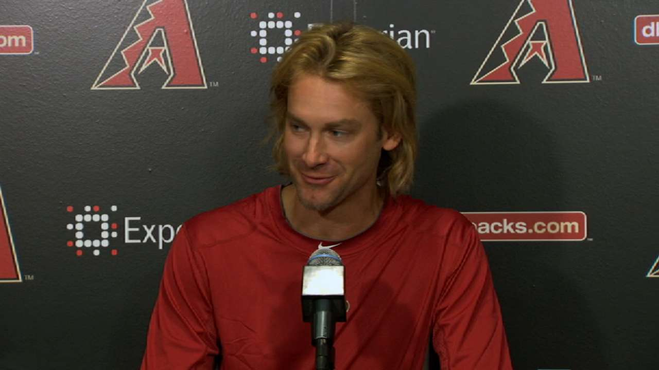 Arroyo impressed with D-backs training staff