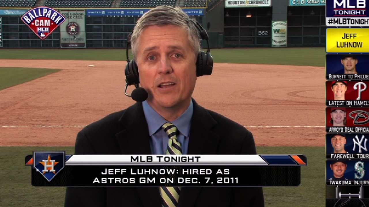 Astros expect progress in 2014 under long-term plan
