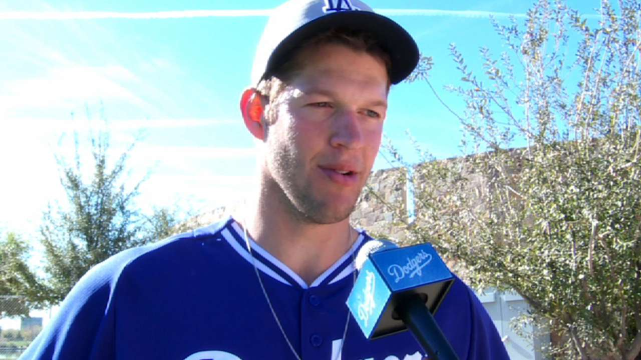 Kershaw to start Cactus League opener