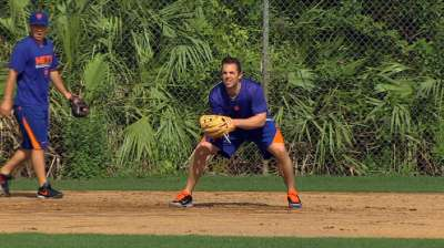 Wright makes changes to offseason routine