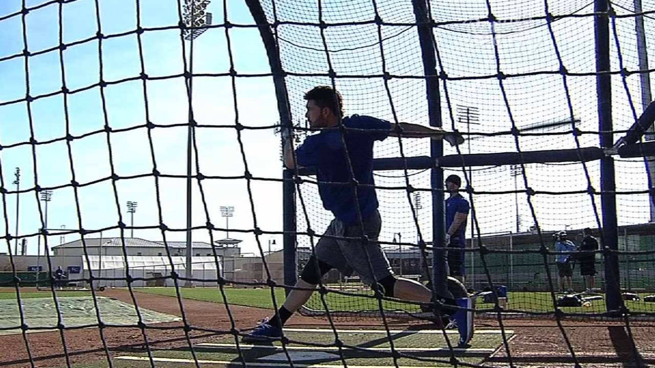 Pitchers, catchers finish first official practice