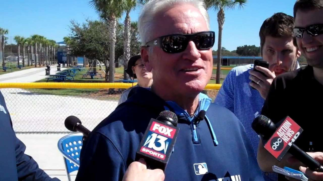 Maddon, Friedman express high hopes for club