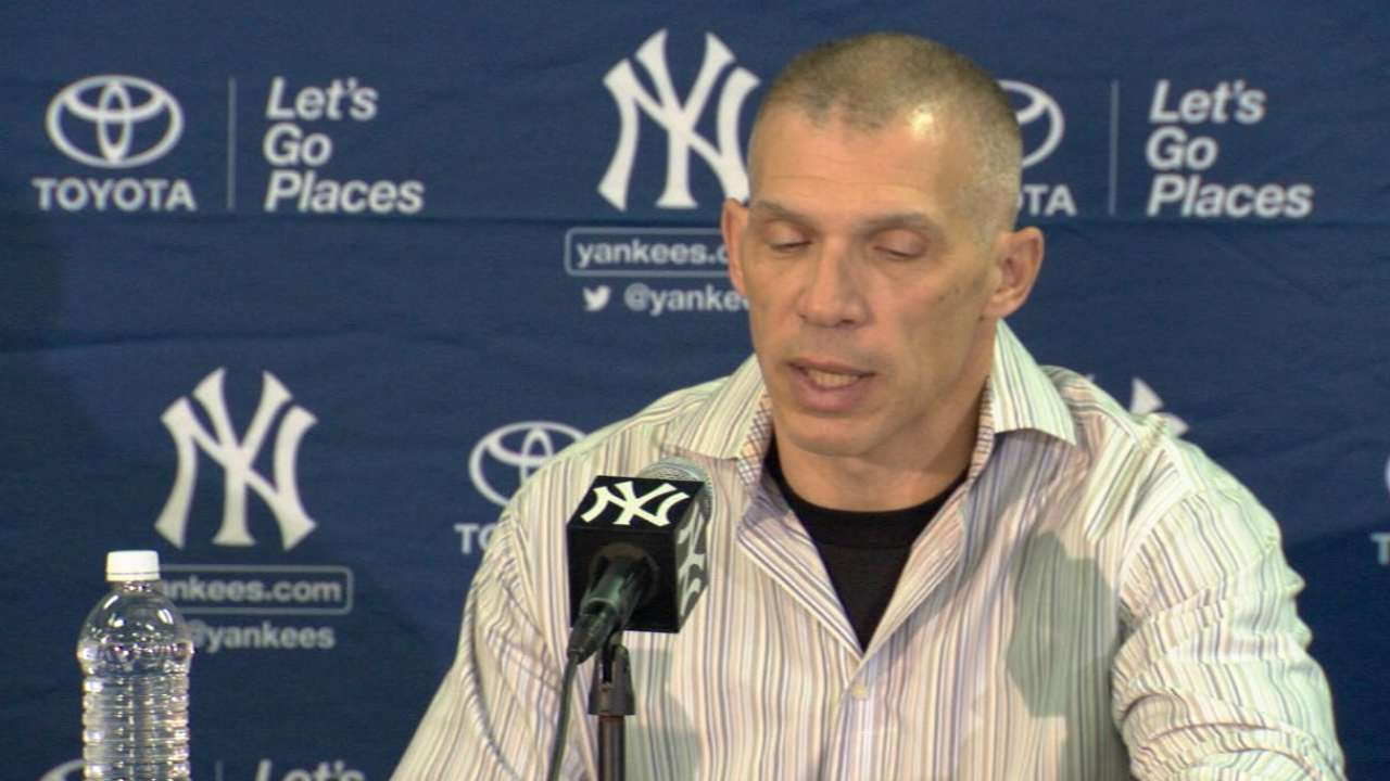 Girardi in transition phase as camp begins