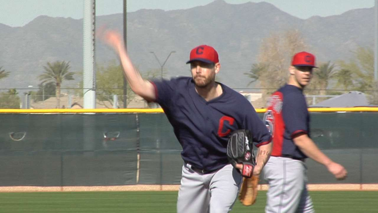 Axford feels rush of adrenaline early in camp