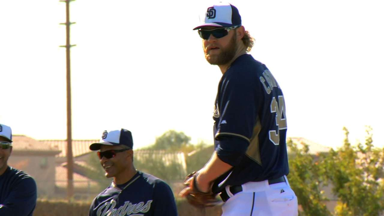 Cashner setting the bar high for Padres on the mound