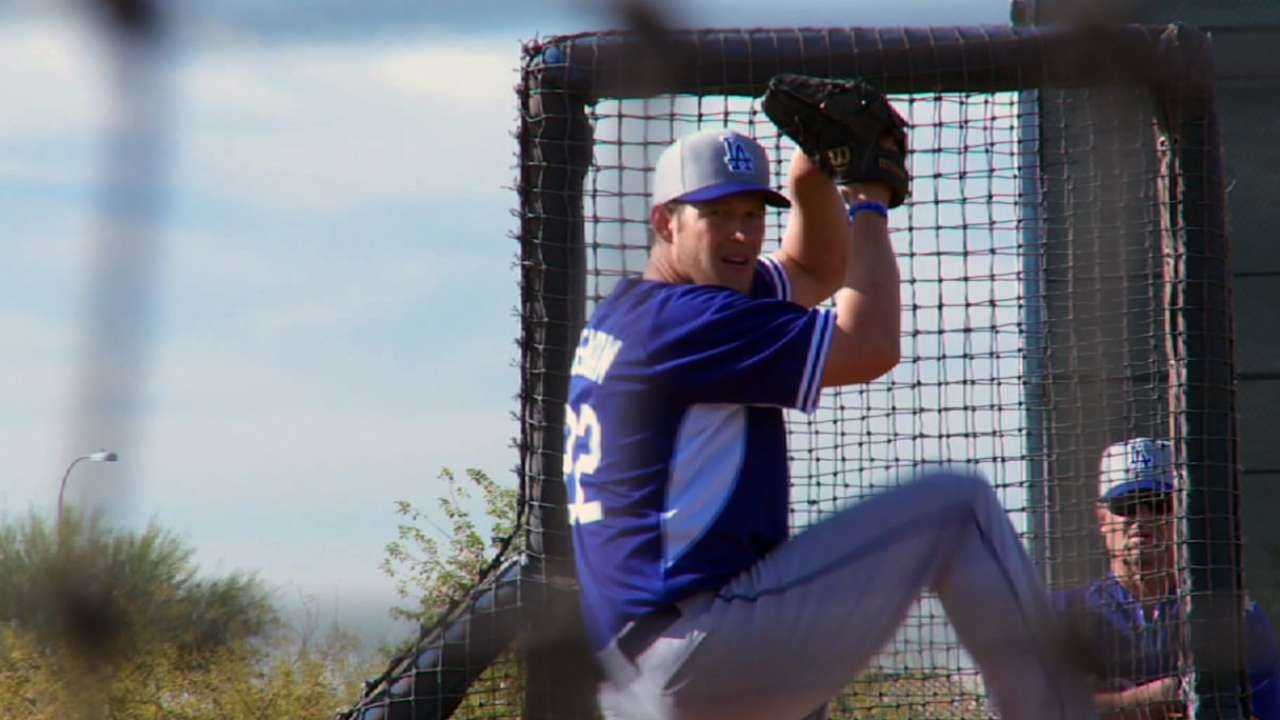 Mattingly reluctant to overwork Kershaw early