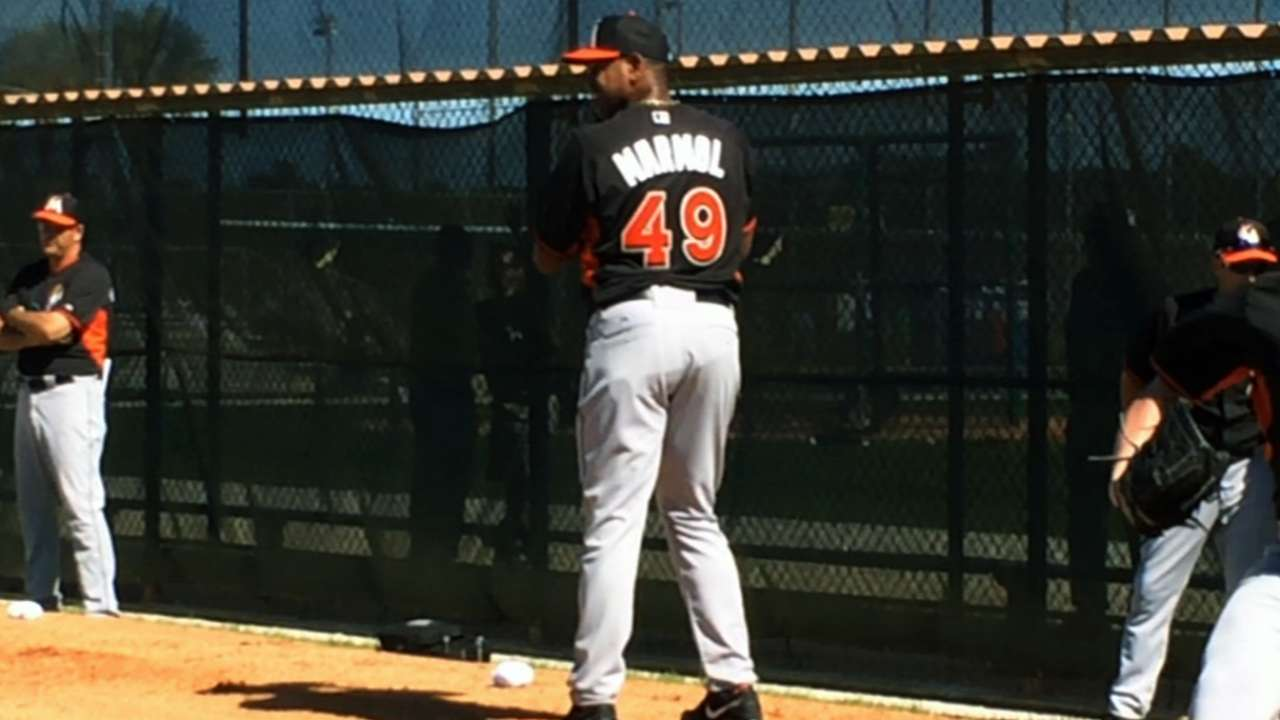 Marmol embraces new opportunity in Miami