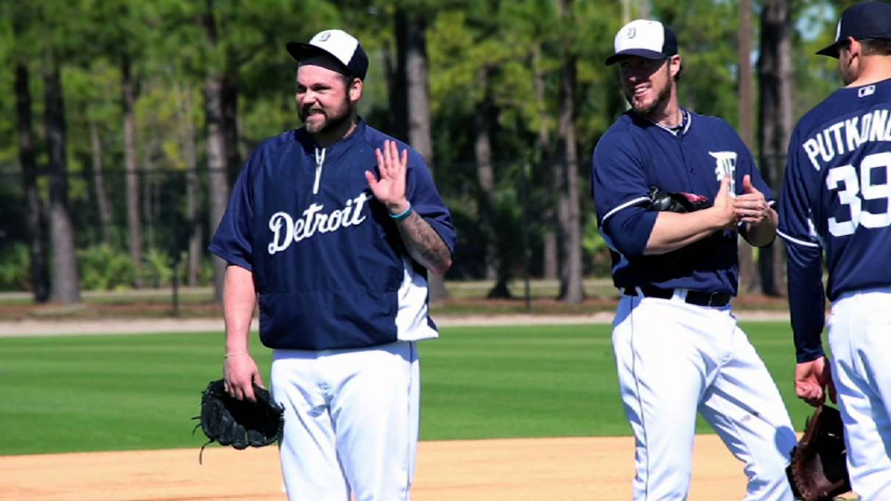 Joba hopes he can help Tigers rule