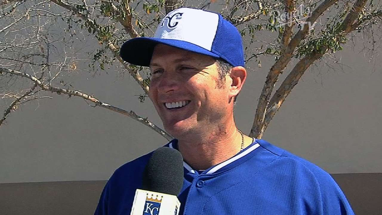 In new role, Sweeney offers Royals advice