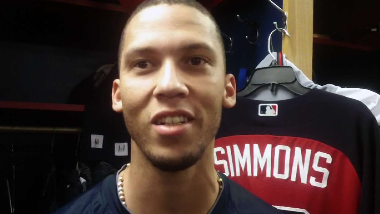 Simmons focused on playing, not extension