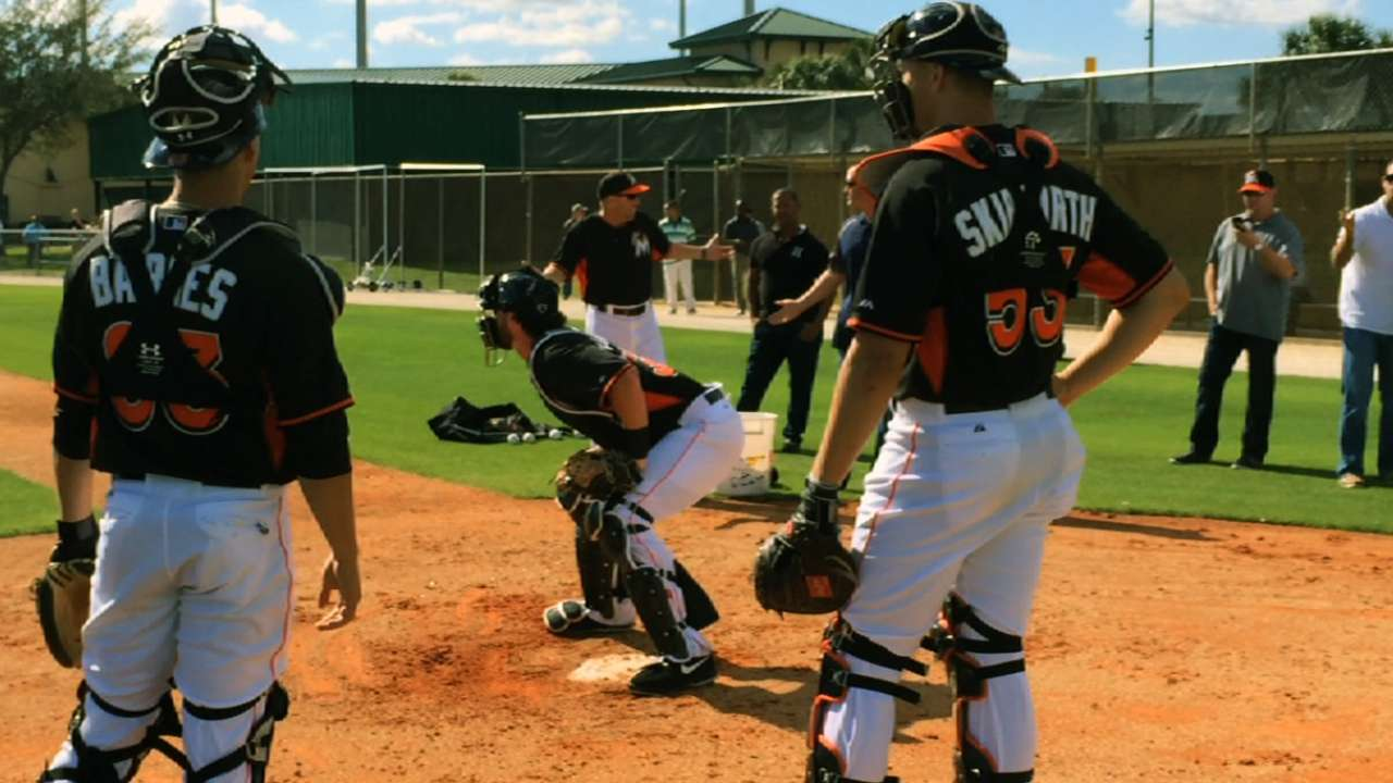 Redmond, Marlins still unclear about collision rule