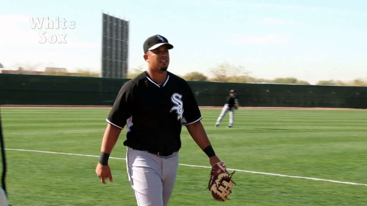 Abreu already displaying powerful bat, work ethic