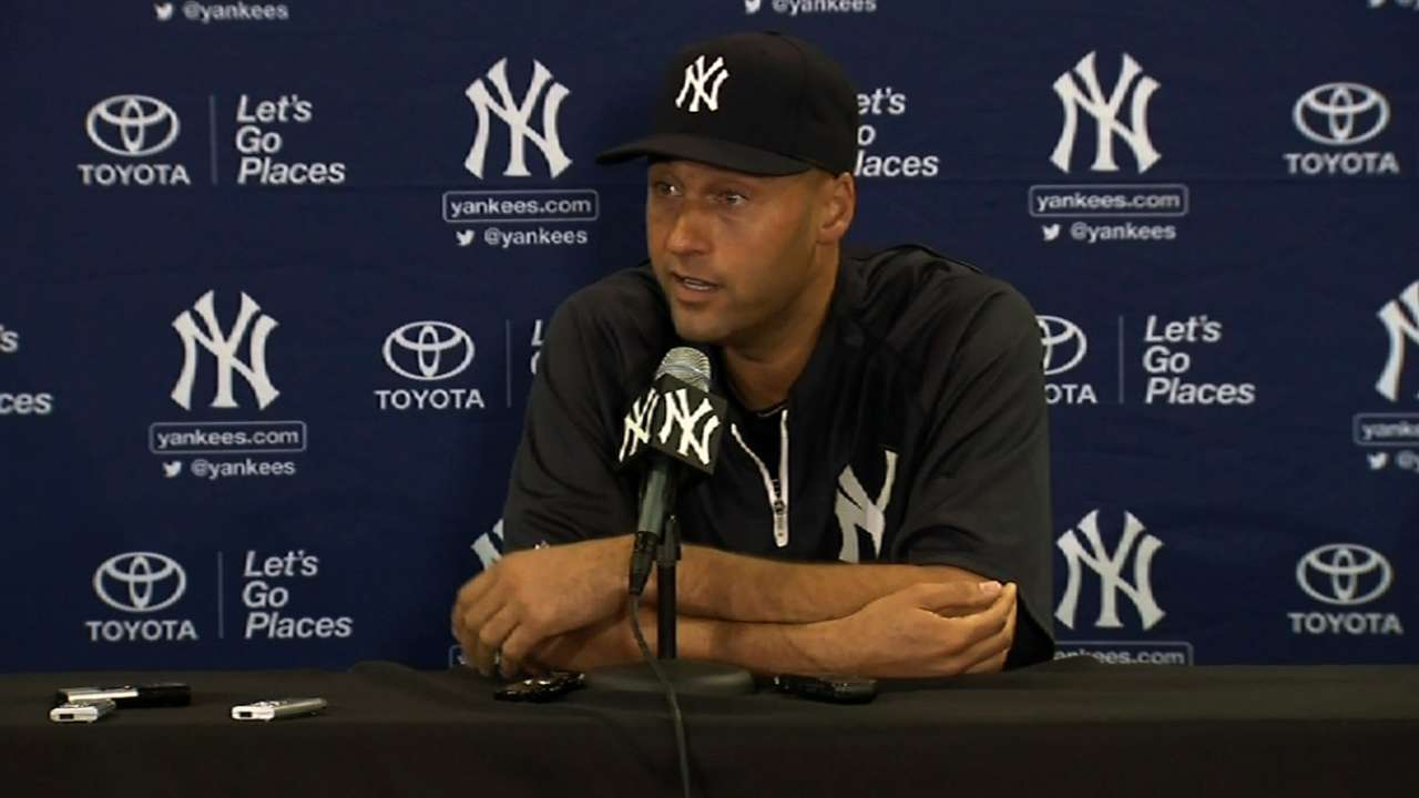 Jeter stays stoic in face of impending farewell tour