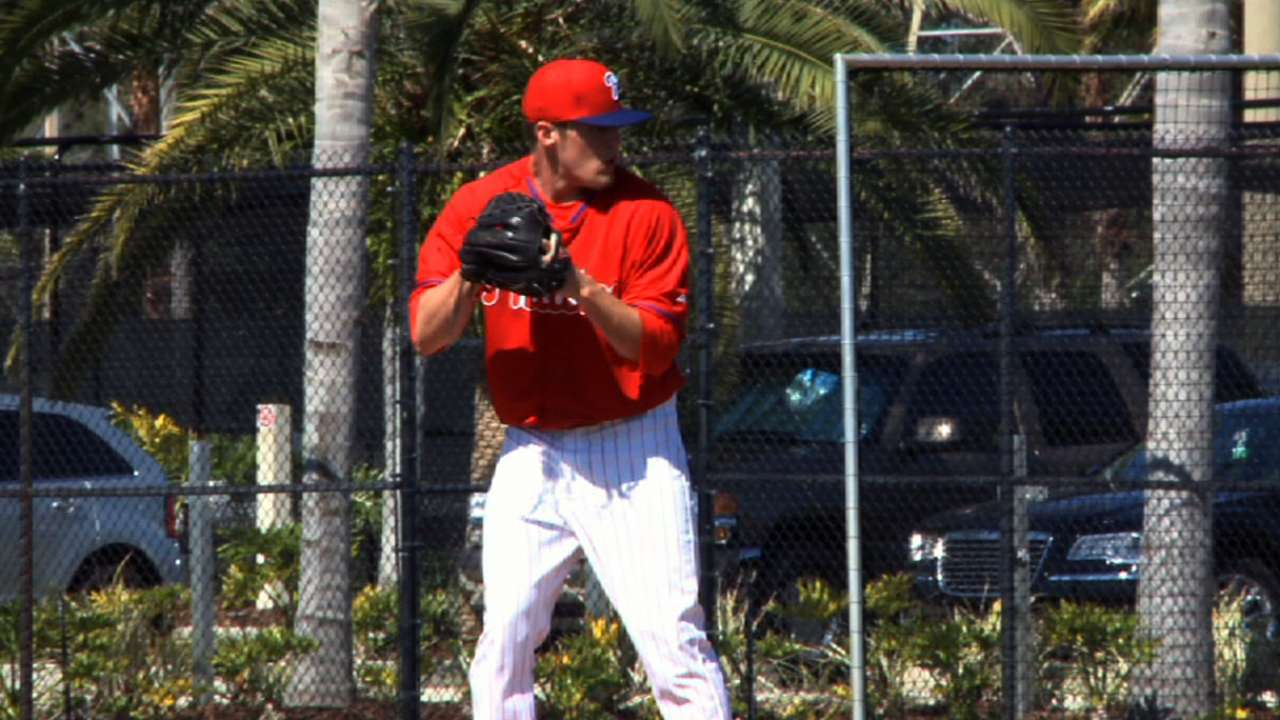 Dominant Giles still working on secondary pitches