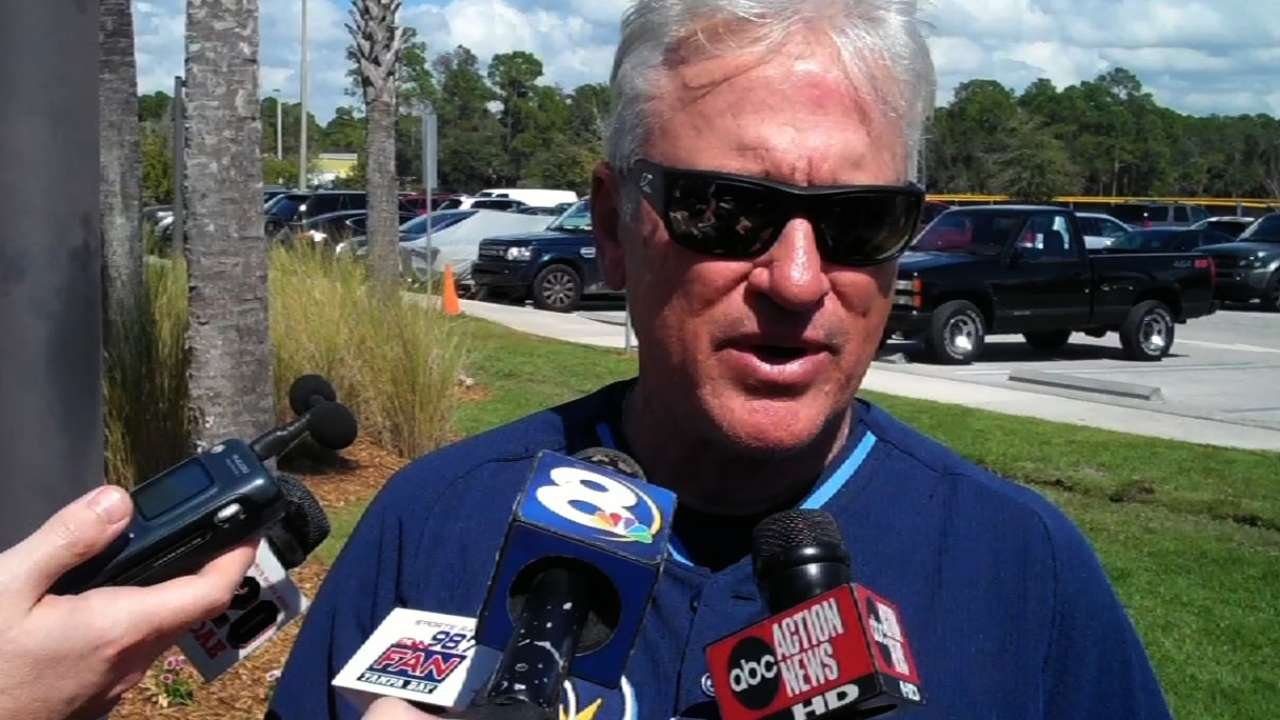 Rays ready to hit field to begin Spring Training games