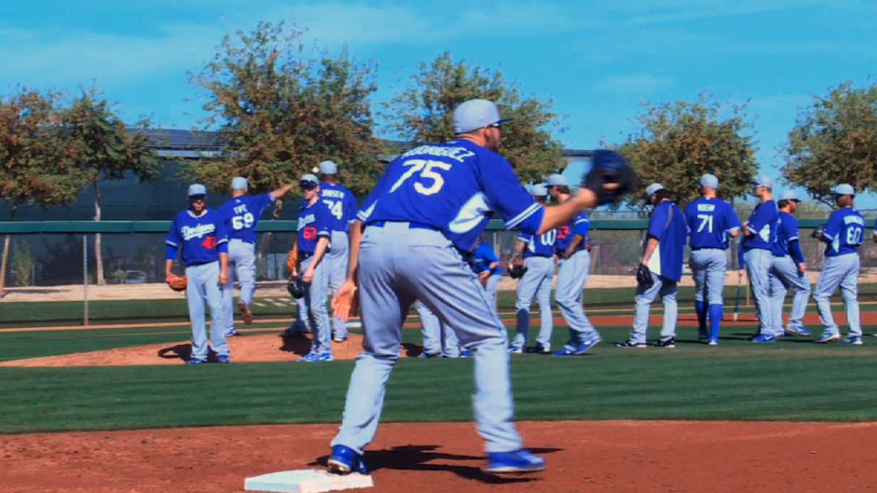 Dodgers point to big picture of Australia trip