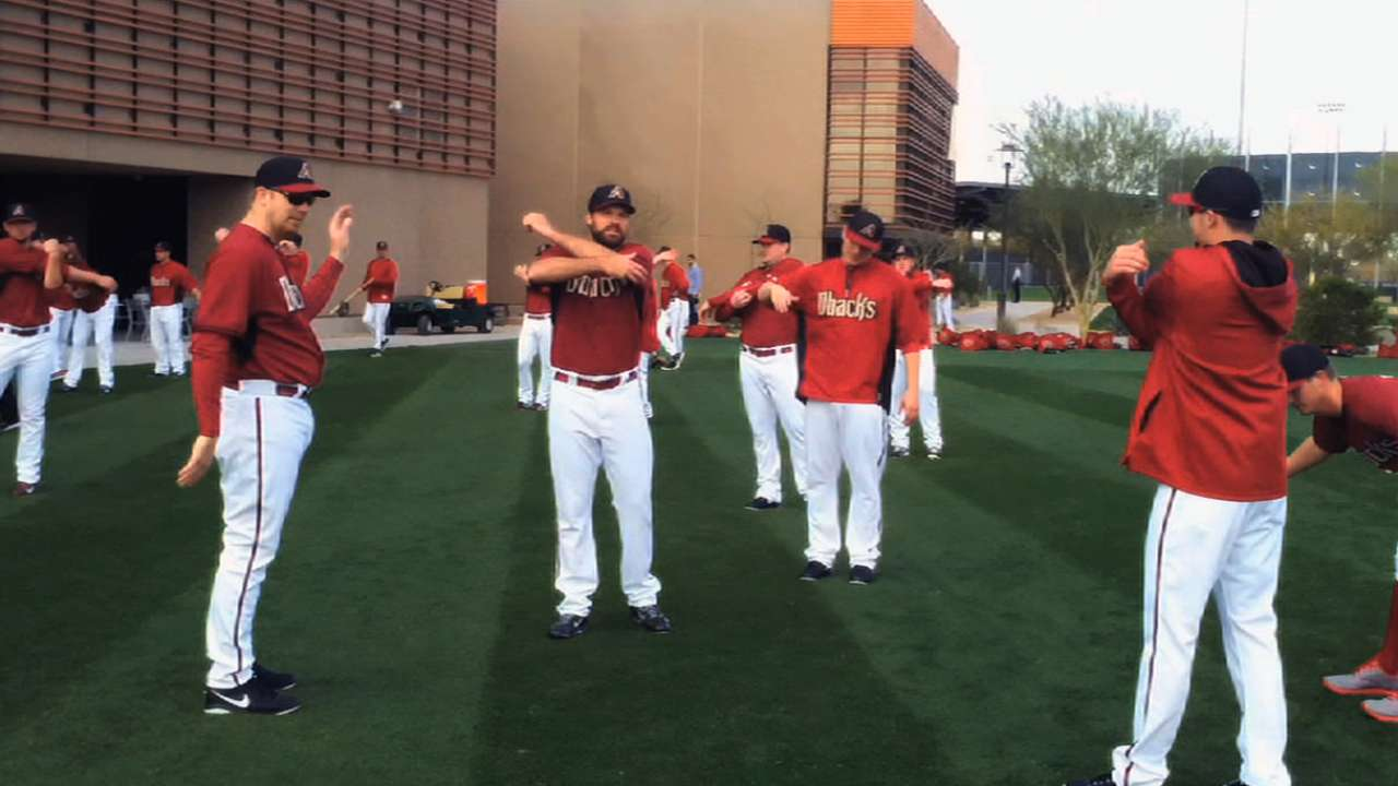 Video helps D-backs increase camp efficiency