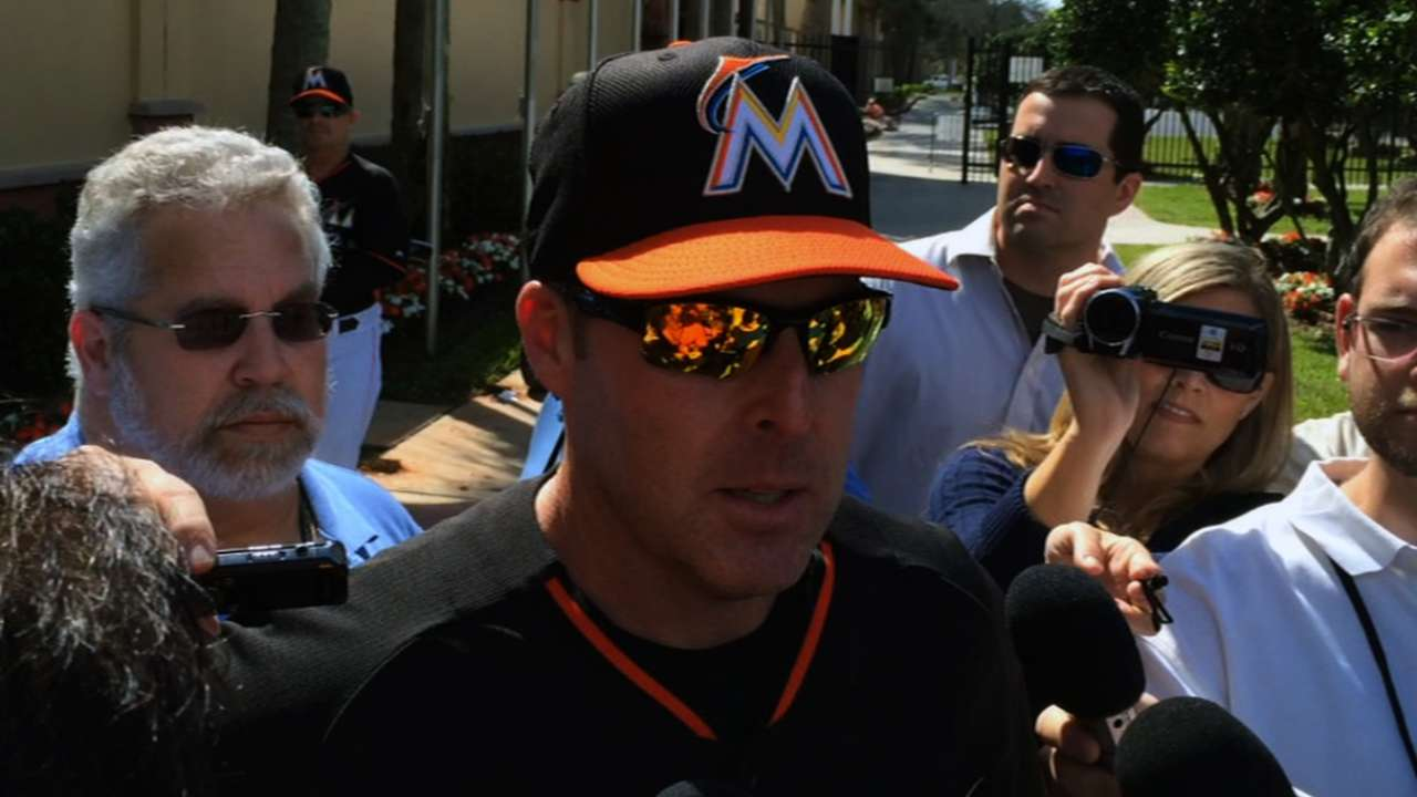 Marlins set to open spring vs. Hurricanes