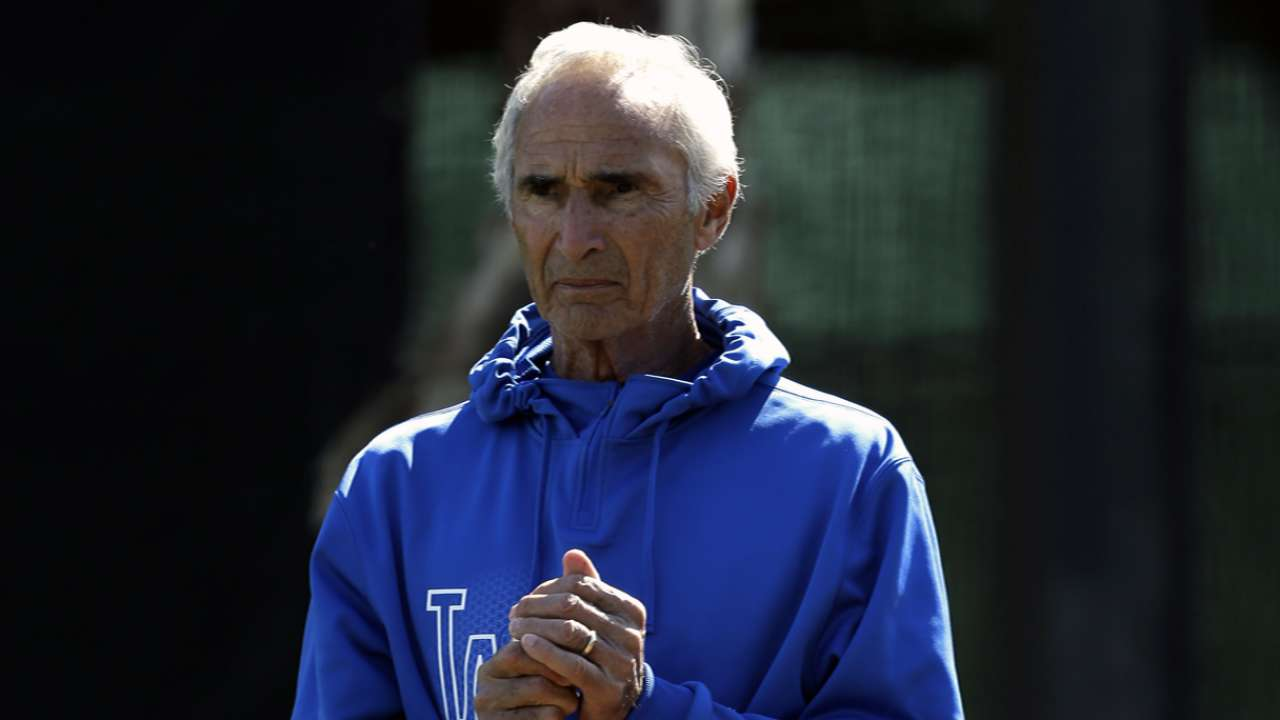 Koufax's scare rattles Dodgers Spring Training