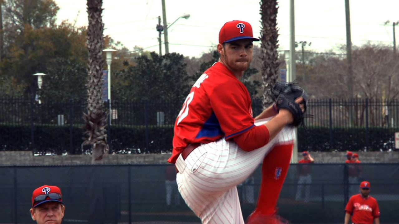 Phillies set pitching for initial spring games