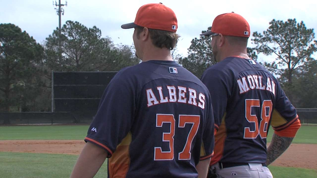 Astros' young bullpen ready to carry load