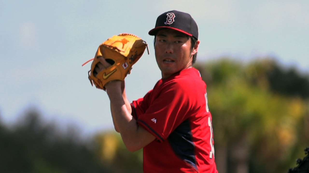 Uehara's focus on future, not past success