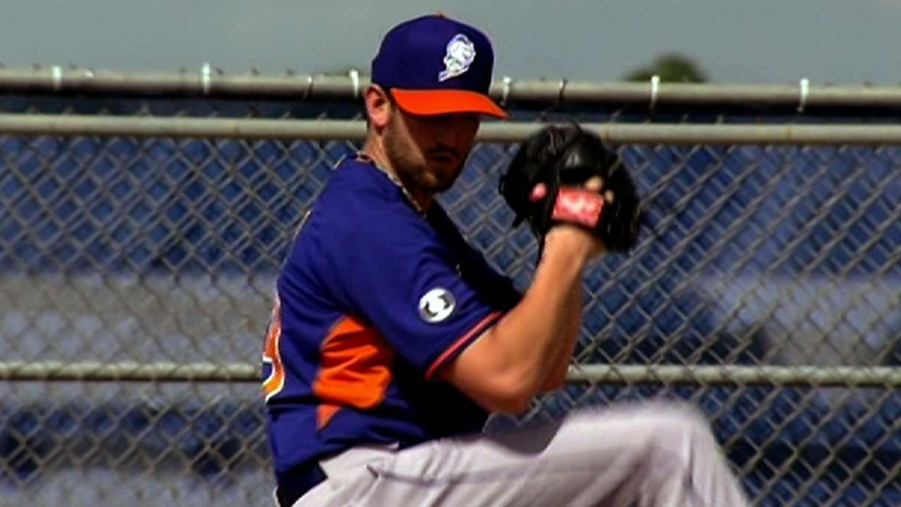 Niese sent to New York for MRI on left shoulder