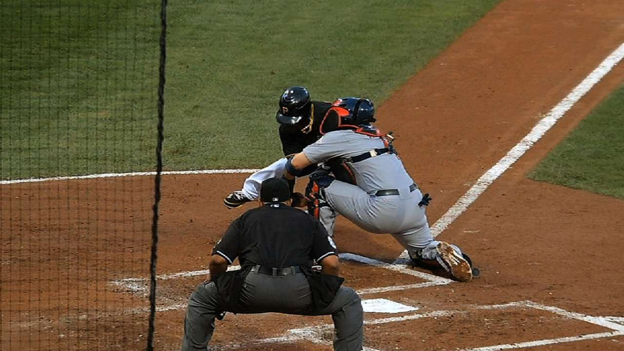 New rule on home-plate collisions put into effect